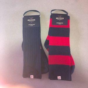 NWT Hollister Boot Socks
